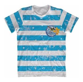 Camiseta Infantil Beija Flor Listrada - Carnaval