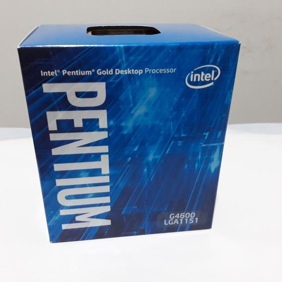 Processador Intel Pentium G4600 Kaby Lake, Cache 3mb, 3.6ghz