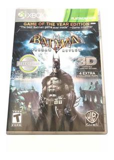 Juego Xbox 360 Batman Arkham Asylum