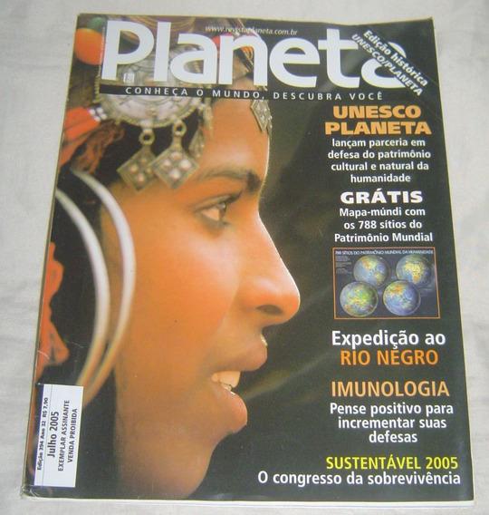 Revista Planeta Edição 394 - Julho 2005 - Mapa Múndi Com 788