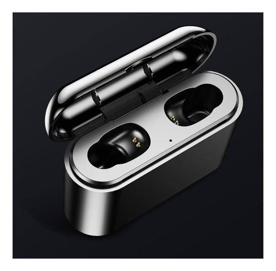Fone De Ouvido Tws Mr Bt V5.0 Bluetooth Estéreo Sem Fio À Prova D