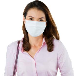 Máscara Tecido Não Descartável Proteção Em Malha Dupla 3 Uni