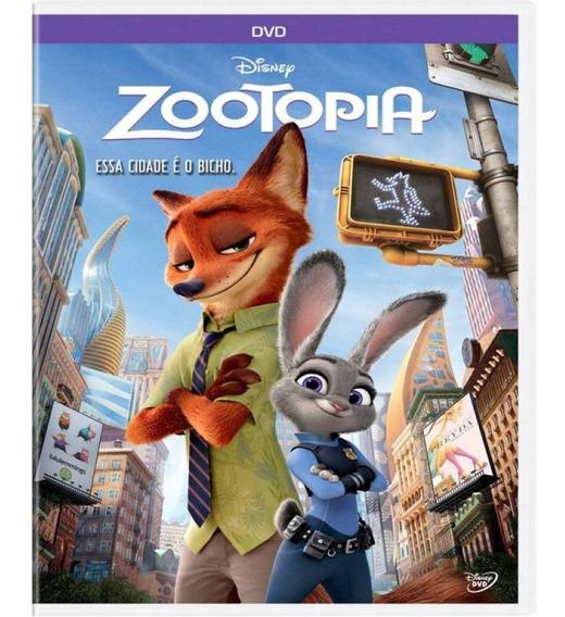 Zootopia Essa Cidade É O Bicho - Dvd Filme Infantil