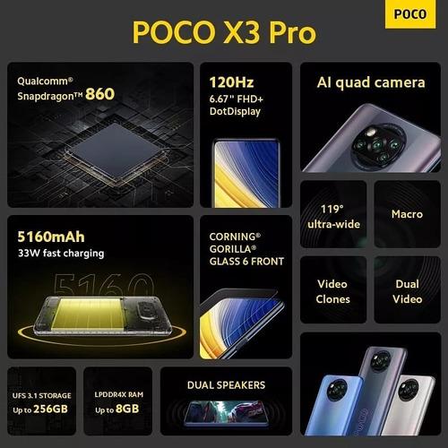Imagem 1 de 1 de Poco X3 Pro 256 Gigas 8 De Ram