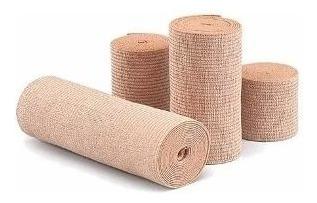 Venda Elástica Algodón 10cm X 3mts. Estética Varices