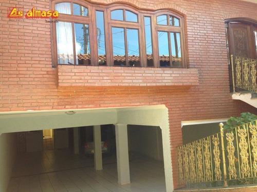 Sobrado Com 4 Dormitórios, 314 M² - Venda Por R$ 535.000,00 Ou Aluguel Por R$ 3.000,00/mês - Jardim Eusonia - Guarulhos/sp - So0181