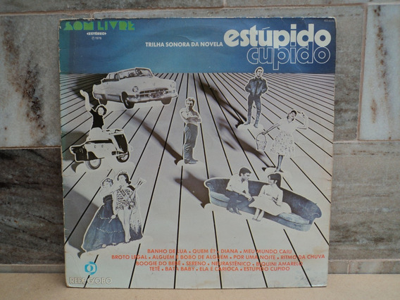Novela-estupido Cupido-nacional-1976-lp Vinil