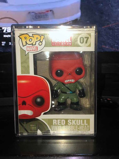 Funko Pop Red Skull Marvel 07 2011 + Envío