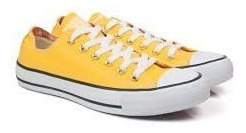 Tênis All Star Cano Curto Amarelo Tradicional