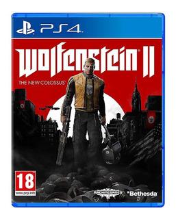 Wolfenstein Ii The New Colossus Eu Nuevo Sellado