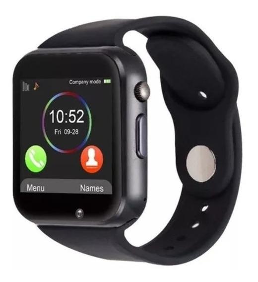 Smartwatch A1 Reloj Celular Iwatch Sim Liberado Bt Camara Sd