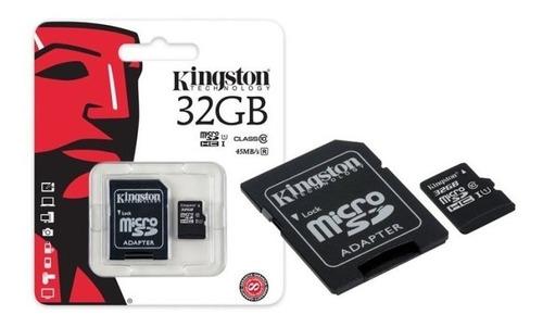 Memoria Micro Sdhc 32gb Kingston Sdc10g2/32gb Clase 10