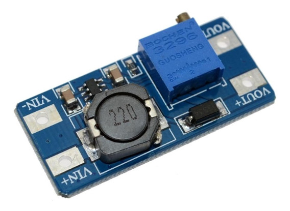 Fuente Step Up Mt3608 Dc Dc 2a Booster Hasta 28v Arduino