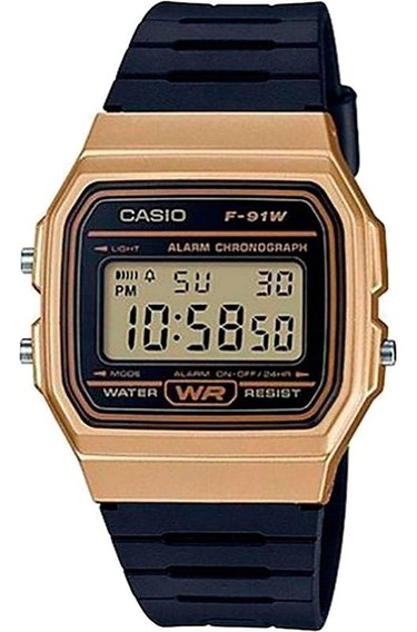 Relógio Casio Masculino F-91wm-9adf