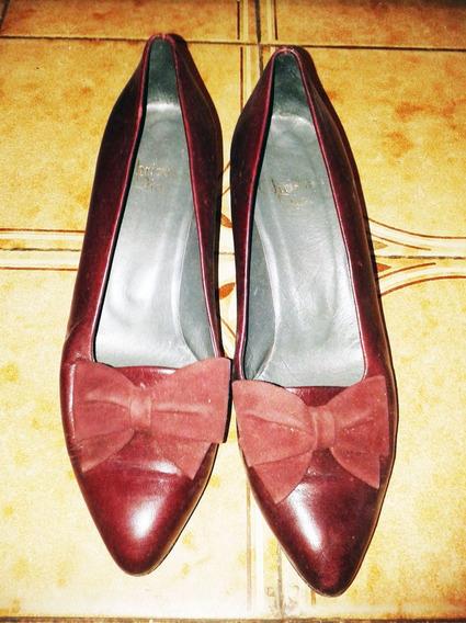 Zapatos Stilletos Marca Cristian Dior, Talle 37