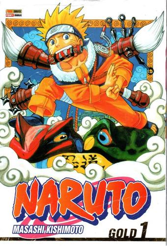 Naruto Gold 01 - Nova Versao - Panini 1 - Bonellihq X20