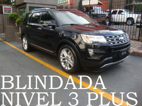 Explorer Limited 2016 Blindada 3 Plus 4x4 Blindaje Blindados
