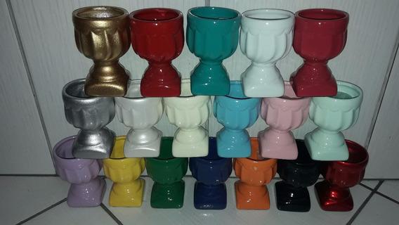 Taça / Vaso Em Cerâmica Decoração / Festas 12x8cm