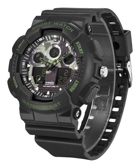 Relógio Weide Digital Esportivo Funcional Original Promoção