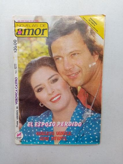 Fotonovela Novelas De Amor Con Póster De Verónica Castro