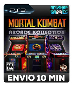 Mortal Kombat Arcade Kollection - Psn Ps3 - Pronta Entrega