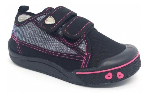 Tênis Velcro Infantil Meninas Klin Toy Colonelli 942143