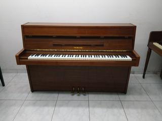 Piano Yamaha Vertical, Tres Pedales Y Sordina Como Nuevo