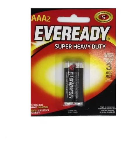 Pilas Eveready  Aaa Super Heavy Duty Caja X 36 Unidades