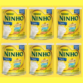 Ninho Leite Em Pó Lata 400g Nestlé - Kit Com 6