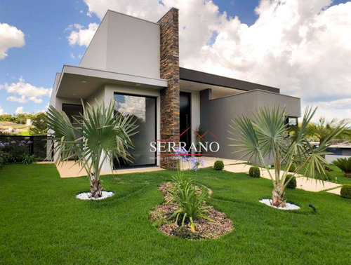 Imagem 1 de 30 de Casa Com 3 Dormitórios À Venda, 406 M² Por R$ 2.700.000,00 - Condomínio Villagio Paradiso - Itatiba/sp - Ca0622