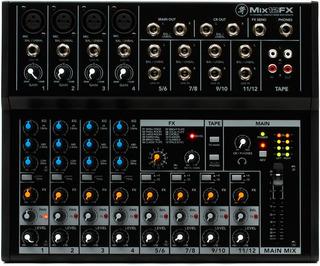 Mixer Consola Mackie Mix12fx 12 Canales, 4 Xlr Con Efectos