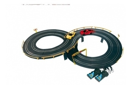 Auto Race Autorama Pista Corrida Brinquedo 2 Carros Eletrica