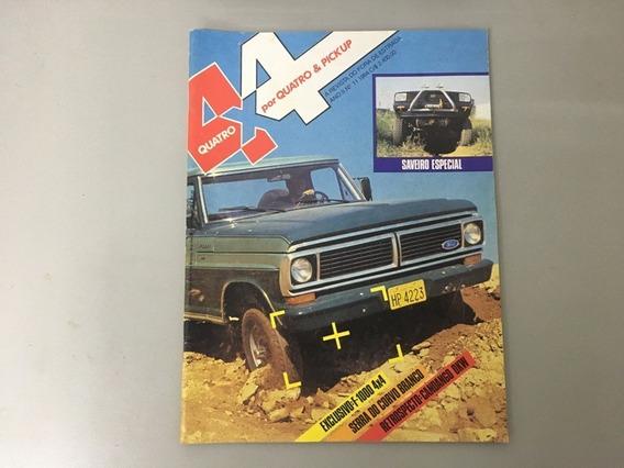 Revista 4x4 & Pick-up N.o 11 - Maio 1984