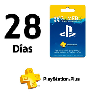 Playstation Plus 28 Días Online - Ps4