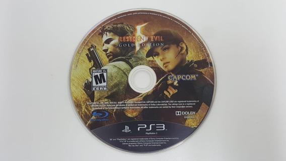 Resident Evil 5 - Ps3 - Sem Encarte - Usado - Orginal