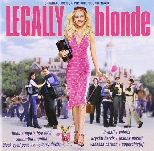 Imagem 1 de 1 de Cd Legally Blonde 1 Soundtrack Ed Usa 2001 Raro Importado