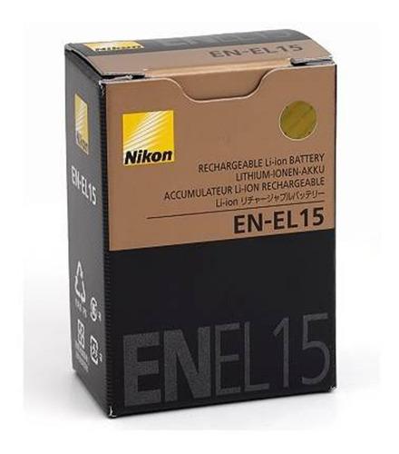 Bateria Original Nikon En-el 15 D600 D800 D800e D7000