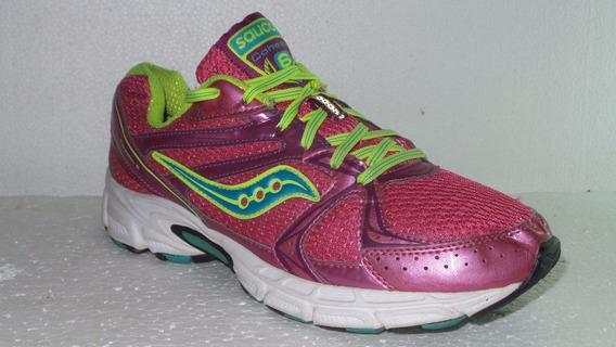 Zapatillas Saucony Cohesio Wom Us10- Arg 40 Usadas All Shoes