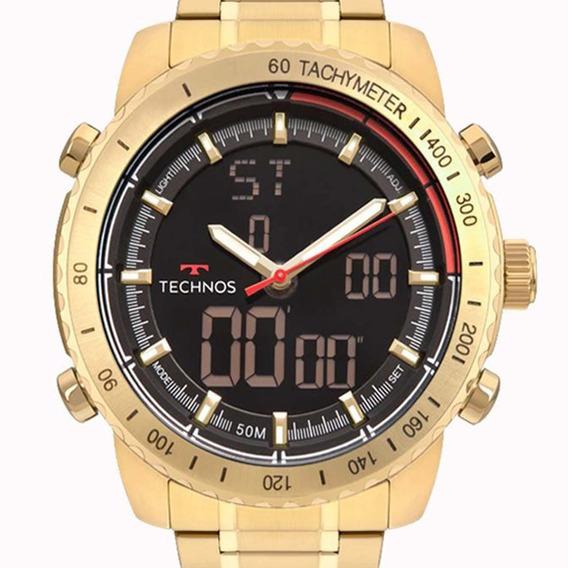 Relógio Technos Masculino W23745ac/4p Cronógrafo Anadigi