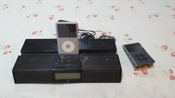 iPod Classic 160gb + Dock + Peças