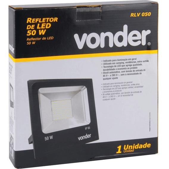 Refletor 50w Led Rlv 050 Vonder