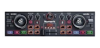 Controlador Numark Dj2go2 Usb Serato Dj Intro Garantia Of.