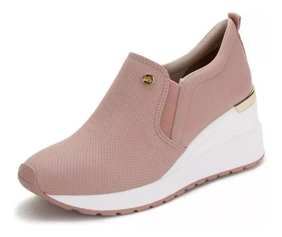 Tênis Feminino Sneaker Preto Via Marte - 193301 - 1912376 !!