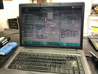 Notebook Compaq Presario F500 Funciona!!! (sin Cargador Sin