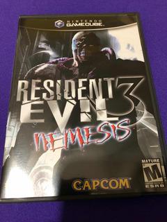 Resident Evil 3 Gamecube.