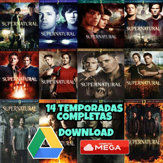 Supernatural Todas As 14 Temporadas Completas - Download