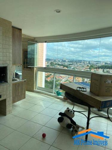 Imagem 1 de 15 de Apartamento Com 215 M² E Sala Com Pé Direito Duplo No Lorian Boulevard!!! - 1984