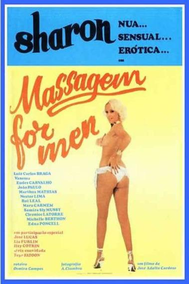 Dvd Massagem For Men (1983) Filme Nacional