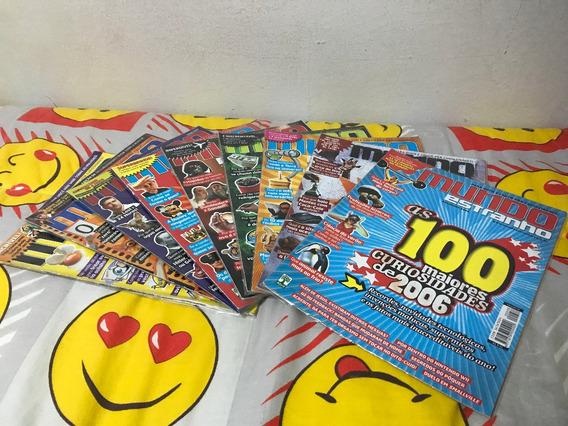 Revista Mundo Estranho Nº 47, 50, 52 Ao 58 (lote 9 Revistas)