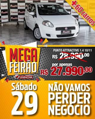 Fiat Punto Attractive 1.4 Flex Mec. 2011